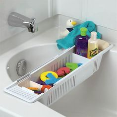 "Toy Holder/Dryer  KidCo Bath Storage Basket - Kidco - Babies ""R"" Us $11.99"
