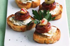 Turn your deli meats into tasty ideas for canapes.