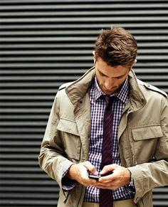 M-65 miltiary jacket.