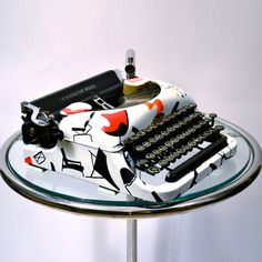 """I love typewriters. I love the tactile experience of writing with truly obsolete technology. In these days of scatter-brain thinking and an obsession with Control V and Control C, the typewriter gives me equal parts freedom AND discipline"" – Quote From: Chase S. Gilbert, Head Designer, Kasbah Mod"