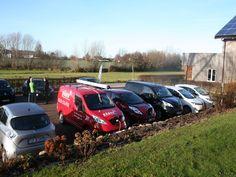 Gute Gesellschaft von Elektroautos unterschiedlichster Hersteller
