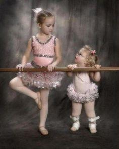 sweet sisters <3  So cute!