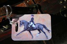 Castleton House Classic Dressage Luggage Tag