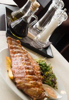 Spare ribs from our menu - delicious!  www.restauracjavidok.pl wwwfacebook.co/restauracjavidok