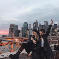 "16.1K vind-ik-leuks, 164 reacties - MAYA (@mayastepper) op Instagram: 'Just two happy fresh ""New Yorkers""'"