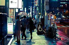 "Hidehiko Sakashita's ""Wet Street"""