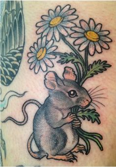 Rat tattoo @laurenwinzer