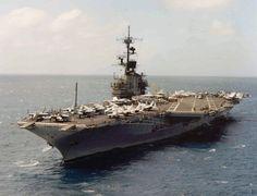 USS Coral Sea CV-43   USS Coral Sea CV-43