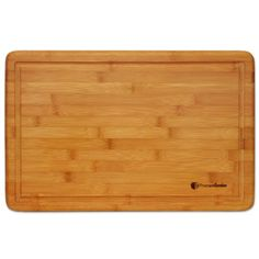 $30     Extra Large Bamboo Cutting Board - 18x12 Thick Strong Bamboo Wood Cutting Board with Drip Groove by Premium Bamboo Premium Bamboo http://www.amazon.com/dp/B00FQ7ICHU/ref=cm_sw_r_pi_dp_zFnbub016XS3M