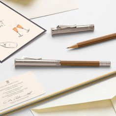 """Graf von Faber-Castell on Instagram: """"Are you already looking for the perfect Christmas gift? Our recommendation: The exclusive edition of the Perfect Pencil in champagne,…"""" Graf Von Faber Castell, Perfect Christmas Gifts, Writing Instruments, Pencil, Accessories, Instagram, Uae, Stationary, Globe"""