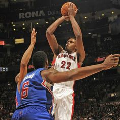 Rudy Gay with a game-high 20 points in a 98-73 rout of the Clippers in his Raptors debut Friday at ACC.