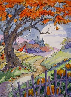 That Glowing Time of Year Storybook Cottage Series | Flickr