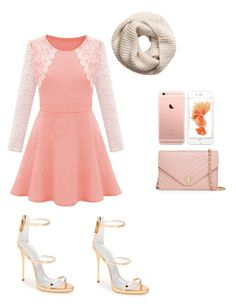"""""""Untitled #15"""" by samanthaissocute ❤ liked on Polyvore featuring beauty, H&M, Giuseppe Zanotti and Tory Burch"""