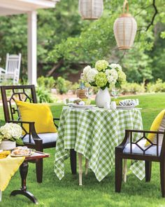 Outdoor Furniture Sets, Outdoor Decor, Tablescapes, Outdoor Living, Table Decorations, Dining, Countryside, Home Decor, Palette