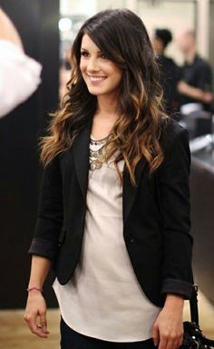 Might go for a darker ombré this fall...
