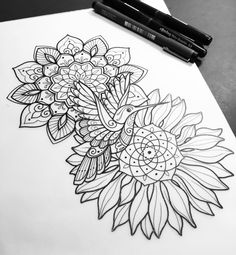 Sunday sketching for Kate.   #tattoo #tattooart #tattoodesign #design #drawing #sketch #art #penandink #handdrawn #mehndi #mehndiart #mandala #mandalaart #instaart #iblackwork #domholmestattoo #theblacklotusstudio