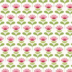 Tilda Fabric - Molly Pink - Tilda - Fabric by Designer - Fabric Stitch Craft Create