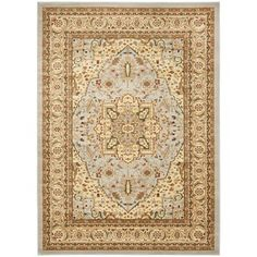 @Overstock.com - Safavieh Lyndhurst Grey/ Beige Rug (8'11 x 12') - An intricate Oriental design and dense, thick pile highlight this power-loomed rug. This rug combines great styling and comfort with a durable powerloomed construction making this ultra low shedding rug easy to maintain.  http://www.overstock.com/Home-Garden/Safavieh-Lyndhurst-Grey-Beige-Rug-811-x-12/7725354/product.html?CID=214117 $332.09