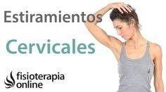 Estiramientos y movilizaciones para las cervicales. Mejora tu dolor de cuello y hombros. Pilates Workout, Cardio, Exercise, Acupressure Treatment, Acupuncture, Coconut Oil Massage, Studio Pilates, Yoga 1, Reflexology