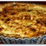 Receta de torta de queso con aceitunas