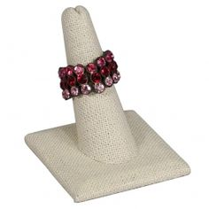 Linen Finger Ring Stand    Price: $1.50/piece
