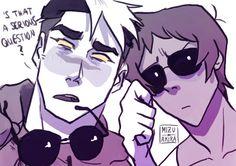 (Voltron) Lance & Kuro 'Who's better, Kuro or Shiro?' 2/5 - By: Project Ava aka Mizu-no-Akira
