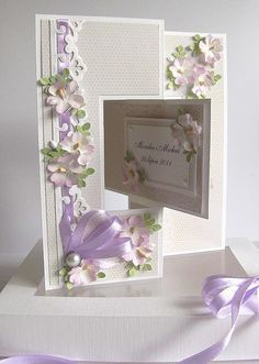 This woman's cards, boxes, tags, albums are beyond awesome.  I want to pin everything!