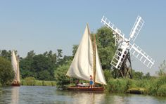 The Norfolk Broads, England