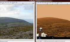 EXTRATERRESTRE ONLINE: Rover Curiosity da NASA nunca deixou a Terra? Imagens de Marte seria tudo uma Montagem?