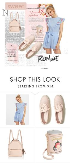 """romwe"" by nizamaj10 ❤ liked on Polyvore featuring Hollister Co., Fendi and Betsey Johnson"
