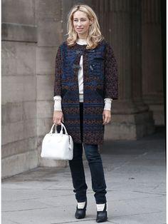 Street Style at Paris Fashion Week S/S13