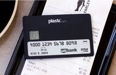 The Plastic Card Can Replace Up to 20 Different Cards #tech trendhunter.com