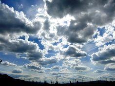 広~い空に雲 / clouded sky **from Valencia, Spain**
