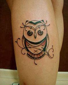 Confira as mais lindas tatuagens femininas de coruja. Fotos, modelos e significados das tattoos de coruja.