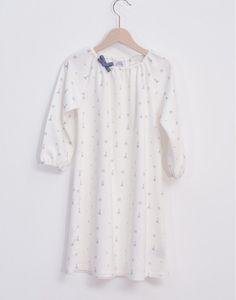 Nightdress in organic cotton