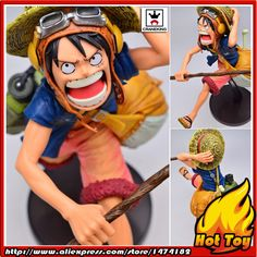 "100% Original BANPRESTO SCultures BIG Zoukeiou 4 Vol.1 Collection Figure - MONKEY D. LUFFY from ""One Piece"""