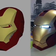 How about an Ironman mask for Halloween, printed from a 3d printer. Very intrigued by this idea.