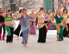 World Belly Dance Day 2013 at The Forks