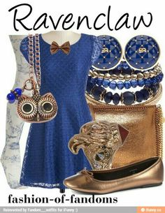 Ravenclaw inspired outfit
