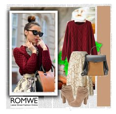 """New Contest From ROMWE-pls join"" by agorai ❤ liked on Polyvore featuring Michael Kors, Jessica Simpson, Nina Ricci and romwe"