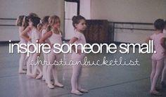 inspire someone small