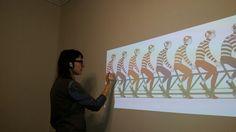 Мой проект: Велосипедисты на стене » Дина Михална