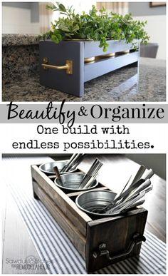 Easy Ikea Organizer - Sawdust 2 Stitches
