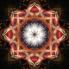 Mandala One Hundred Twenty Six - Fyrwyrx