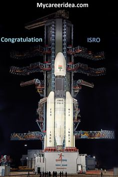 T-minus 2 hours in Launch! GSLV is ready to Launch from Satish Dhawan Space. by Physics Atlantis, Career Assessment Test, Cosmos, Centre Spatial, Nasa, Selfies, Delhi College, Les Satellites, Space Center