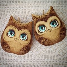 Clay Owl, Foam Paint, Fabric Toys, Soft Dolls, Doll Toys, Sewing Projects, Sewing Patterns, Plush, Paper Crafts
