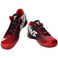 http://www.asneakers4u.com/ Nike Kobe 8 System MC Gradual Change Black/Red Sale Price: $69.30