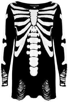 SKELETOR. Bone Me like You Own Me! - Custom Knit Design.- Distressed Hem & Sleeves.- Crew Neck.- Mens/UNISEX Fit. Super Soft & Chill-vibesknit sweater