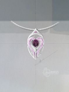 Création www.jbpdesign.fr Tourmaline violette