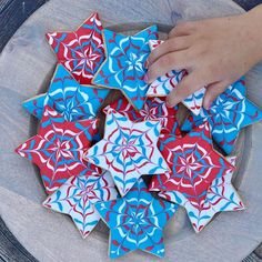 How to decorate #FourthofJuly sugar cookies.#cookies #tutorial #easyrecipes Original Recipe, Fourth Of July, Sweet Dreams, Sugar Cookies, Peanut Butter, Posts, Blog, Decor, Decoration
